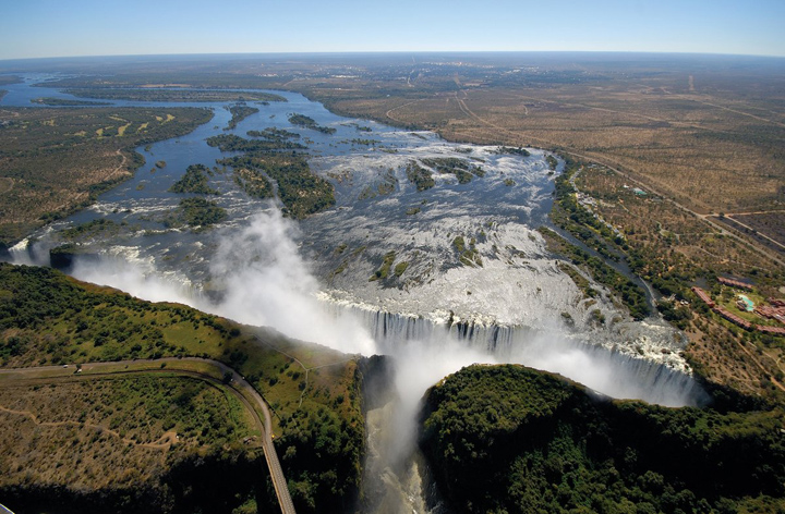 Helicopter Tour in Victoria Falls